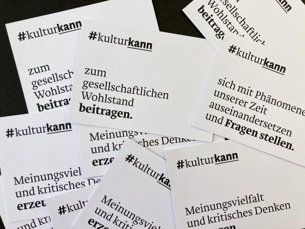 Kampagne #kulturkann